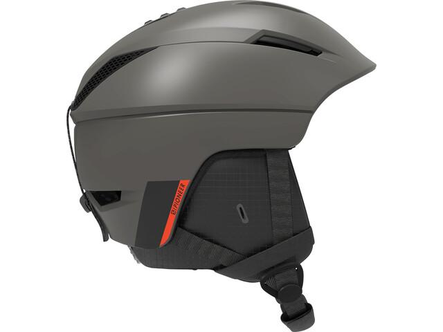 Salomon Pionner M Helmet Men beluga/neon red